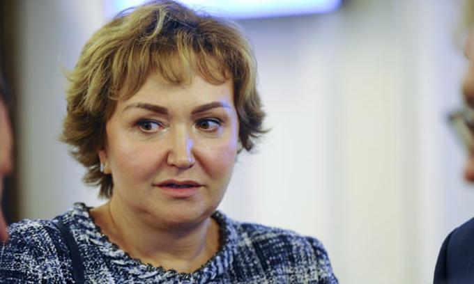 Bà Natalia Fileva tử vong ngay tại hiện trường tai nạn. Ảnh: AP.