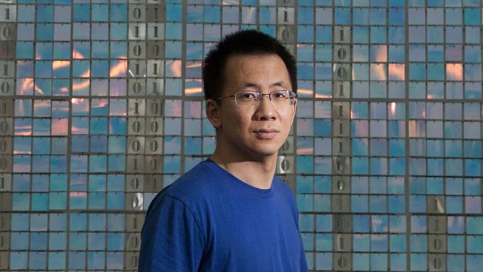 Zhang Yiming - nhà sáng lập Bytedance, startup giá trị nhất thế giới. Ảnh:Bloomberg.