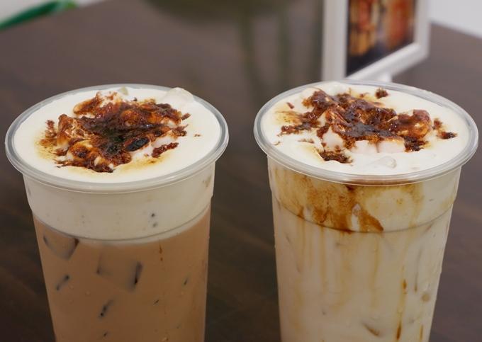 Trào lưu trà sữa, sữa tươi đường đen nướng xuất hiện ở Sài Gòn