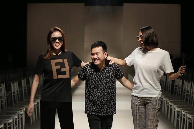 Đây là lần thứ 2, siêu mẫu được nhà thiết kế giao trọng trách trong việc sắp xếp đội hình, bố trí tuyến người mẫu cho show diễn của anh.