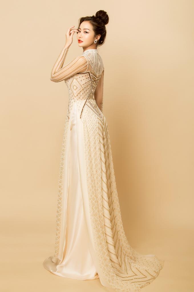 Áo dài cưới 'thử riêng' cho hôn lễ phong cách Gtsby