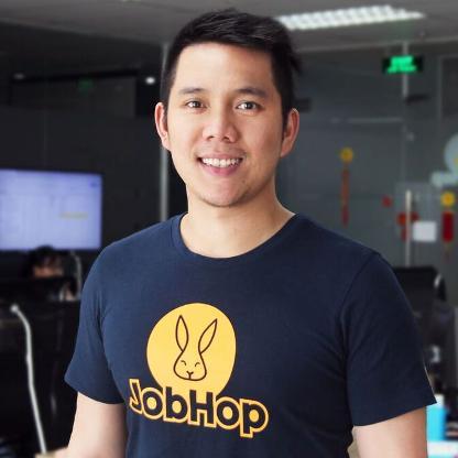 Kevin Tùng Nguyễn, Đồng sáng lập của JobHop. Ảnh: Forbes.
