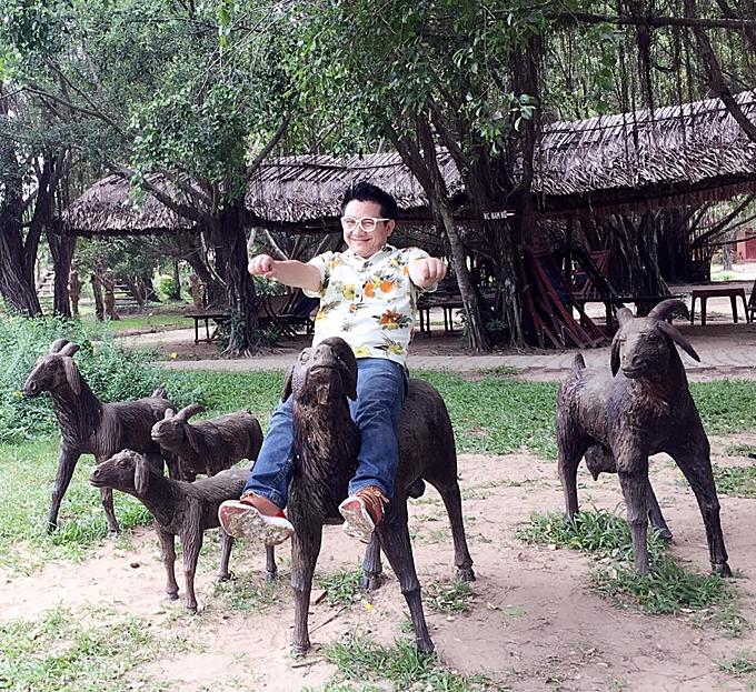Khu Du Lịch Sinh Thái Bò Cạp Vàng. tháng 7 2016