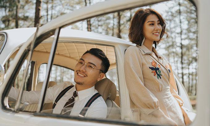 Ảnh cưới của vợ chồng Xuân Phúc.