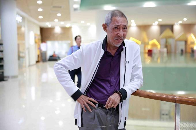 Nghệ sĩ Lê Bình dự buổi ra mắt bộ phim Táo quậy cuối tháng 1/2019.