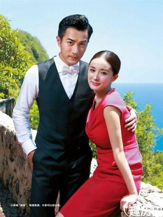 Dương Mịch và Lưu Khải Uy ly dị nhau năm 2018.