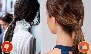 2 biến tấu tóc đuôi ngựa chị em công sở nào cũng có thể bắt chước