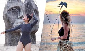 Nhiều blogger thế giới check in bãi biển ít người biết ở Phú Quốc