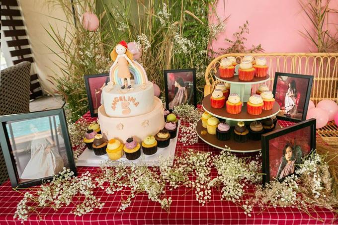 Vợ chồng Đoan Trang mở tiệc mừng con gái tròn 5 tuổi