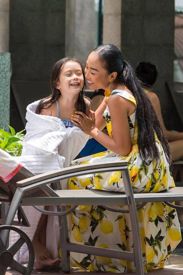 Vợ chồng Đoan Trang mở tiệc mừng con gái tròn 5 tuổi - 6