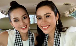 Á hậu Hoàng My nhận Hoa hậu Tiểu Vy là 'em gái thất lạc'