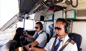 Phi công ở đâu, làm gì khi máy bay chưa cất cánh