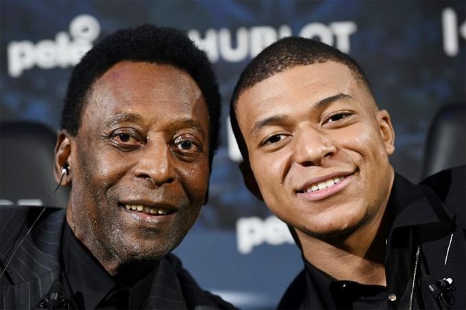 Pele tin rằng Mbappe sẽ đuổi kịp mốc 1000 bàn thắng của ông.
