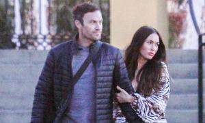Megan Fox và chồng 'trốn' 3 con đi hẹn hò giữa tuần