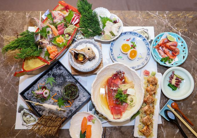 Những món ngon nên thử tại nhà hàng hải sản tươi sống Nhật