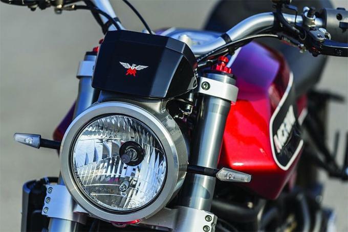 Xe hoài cổ Moto Morini Milano cạnh tranh Ducati Scrambler 1100 - 2
