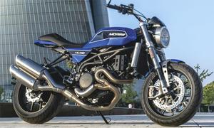 Xe hoài cổ Moto Morini Milano cạnh tranh Ducati Scrambler 1100