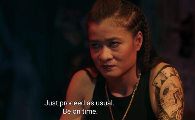 Thanh Hoa đóng vai Thanh Sói.