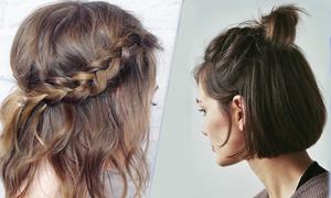 4 cách tạo kiểu vừa dễ vừa đẹp cho nàng tóc lỡ