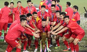 Tuyển Việt Nam tăng hạng, lên vị trí 98 thế giới