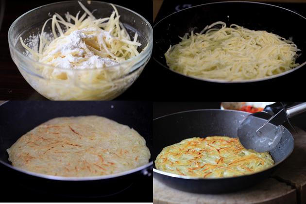 Bánh khoai tây chiên giòn - 1