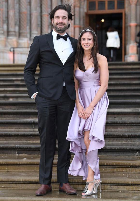 Camilla Thurlow (29 tuổi) và bạn trai Jamie Jewitt. Ảnh: WireImage.