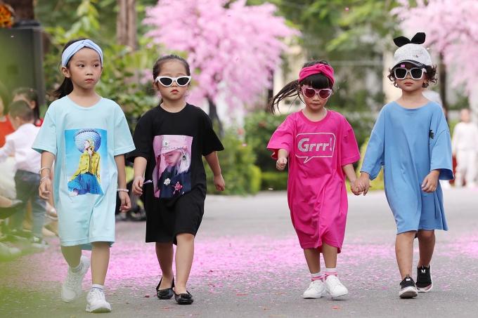 Bản sao Hồ Ngọc Hà, con gái Xuân Lan gây chú ý khi catwalk - 5