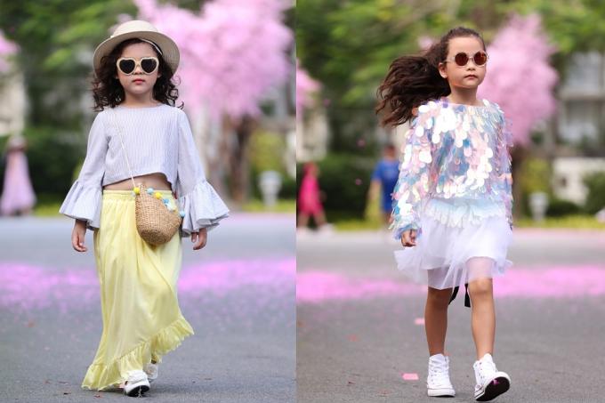 Bản sao Hồ Ngọc Hà, con gái Xuân Lan gây chú ý khi catwalk - 8