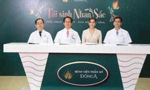 Hoa Hậu Tiểu Vy làm giám khảo chấm vòng casting chương trình phẫu thuật thẩm mỹ