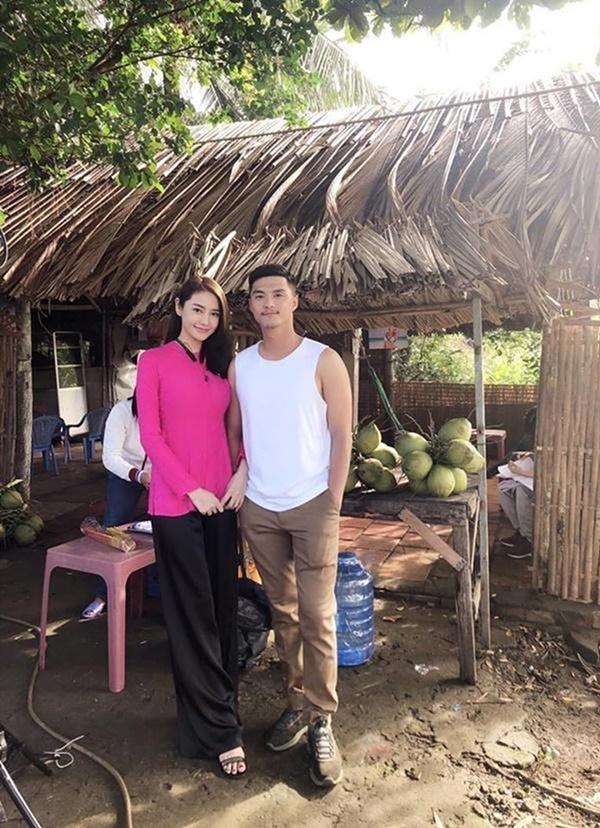 Linh Chi và Lâm Vinh Hải đóng cặp đôi vụng trộm trong phim Vu quy đại náo.