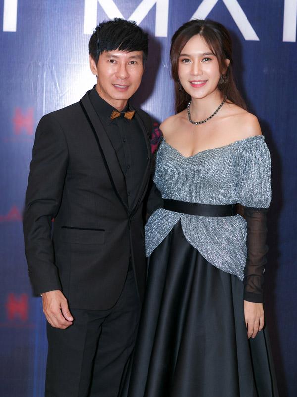 Vợ chồng Lý Hải - Minh Hà dự buổi họp báo công bố dự án Lật mặt: Nhà có khách năm 2018.