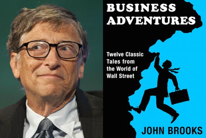 [CaptiNgay sau cuộc gặp mặt đầu tiên đó, Gates đã đề nghị Buffett đưa ra gợi ý về cuốn sách kinh doanh yêu thích của ông. Buffett đã cho Gates mượn bản sao cuốn Business Adventures (tạm dịch: Những cuộc phiêu lưu trong kinh doanh) của John Brooks. Ngày nay, đó là cuốn sách kinh doanh yêu thích của Gates - và ông vẫn giữ bản sao của Buffett.