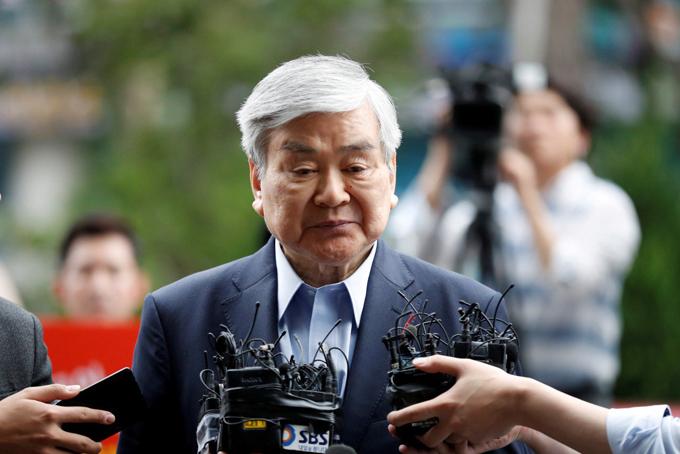 Chủ tịch Korean Air - Cho Yang-ho. Ảnh: Reuters.