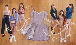 10 cách mặc một chiếc đầm liền sáng tạo
