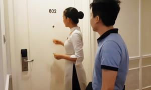 Bí ẩn hành động gõ cửa căn phòng trống của nhân viên khách sạn
