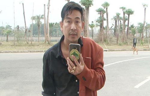 Trần Đình Sang thường phát trực tiếp về cảnh sát giao thông.