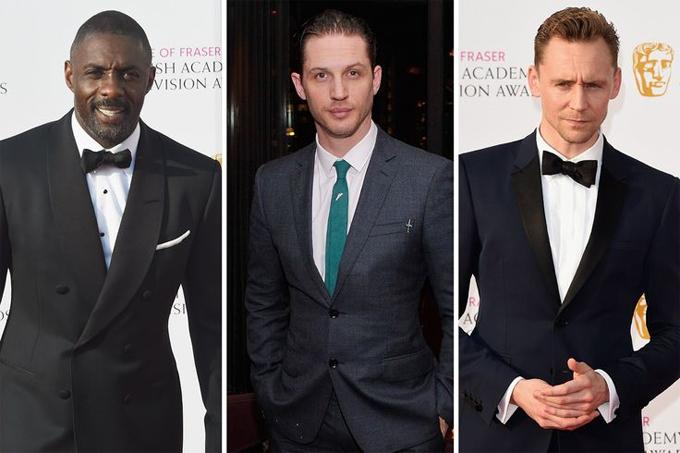 Idris Elba, Tom Hardy, Tom Hiddleston được coi là những ứng viên sáng giá cho vai James Bond.