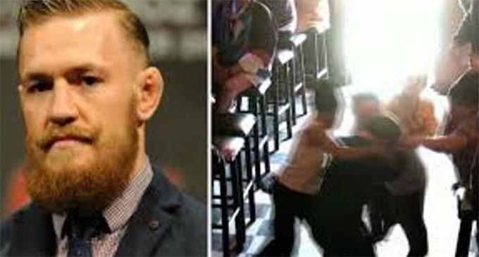 McGregor nổi cáu đánh người sau câu nói bị Khabib nghiền nát