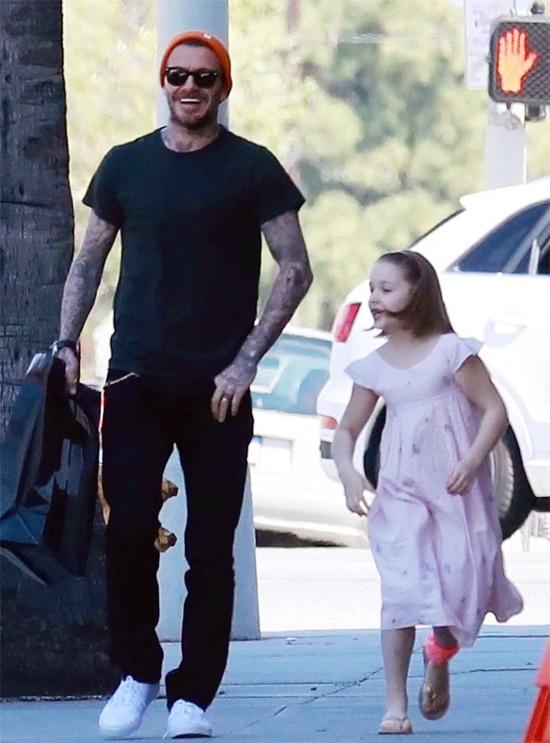 Becks và con gái cưng