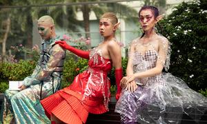 Teen Sài Gòn mặc như yêu tinh ở Tuần lễ thời trang