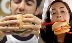 Ăn burger thế nào cho đúng cách