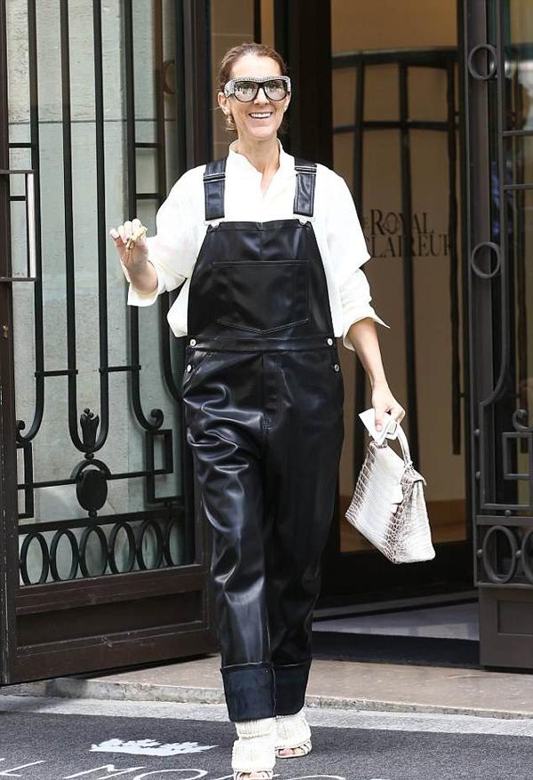 Không phải là một ngôi sao thích trưng hàng hiệu nhưng diva Celine Dion vẫn tậu một chiếc Kelly Matte Himalayan.