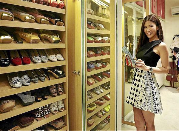Tủ đồ Hermes, Chanel triệu đô của cô nàng đại gia - 4