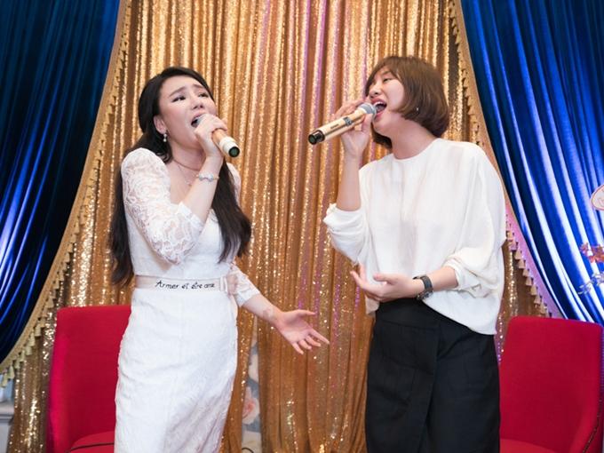 Hồ Quỳnh Hương chọn biểu diễn bản hit