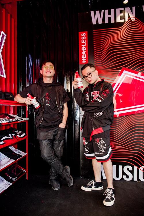 DJ Tín Lê và DJ Teddy Doxx - một trong những nhân vật đình đám của giới underground.