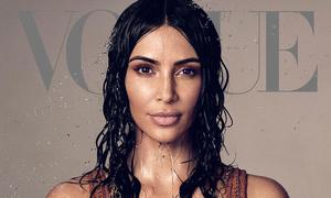 'Vogue' bị chỉ trích vì đưa Kim lên trang bìa