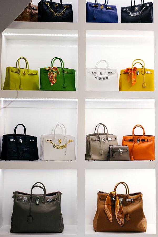 Bộ sưu tập túi xách Hermes của người phụ nữ giàu có khiến mọi cô gái đều thèm muốn.