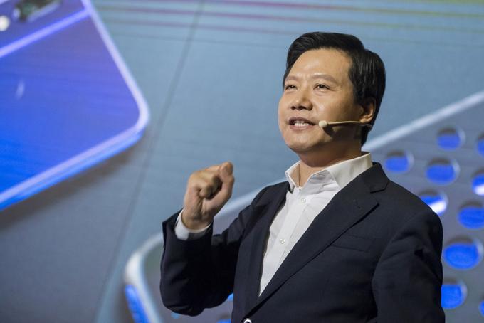 Ông Lei Jun cho biết số tiền thưởng sẽ được dùng cho mục đích từ thiện. Ảnh: SCMP.