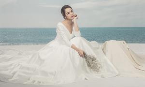 Váy cưới minimalist thanh lịch cho nàng dâu hiện đại