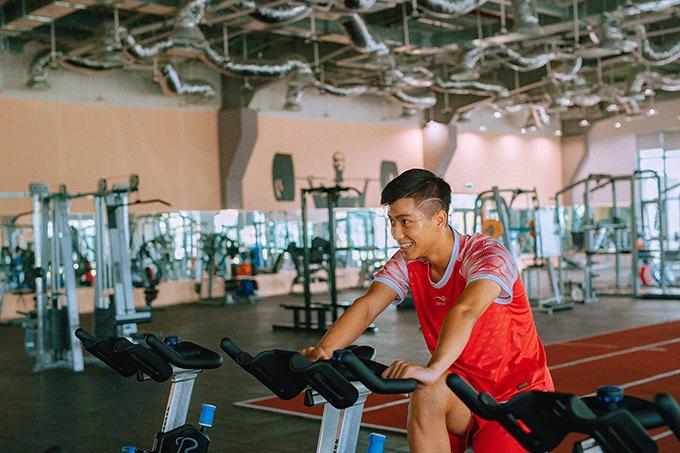 HLV Nguyễn Đức Thắng của SLNA cho biết phải 4-6 tuần nữa, Văn Đức mới có thể trở lại thi đấu.